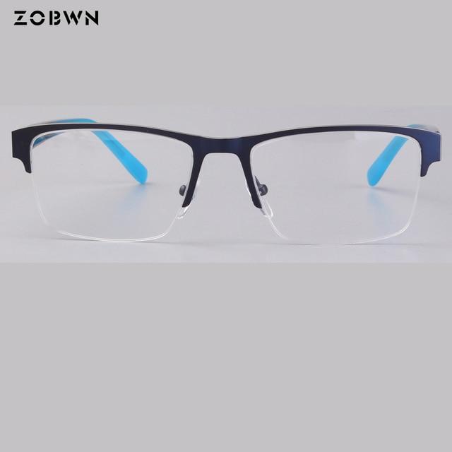 946080763d2 wholesale classic computer business glasses frame generous Anti blue clear lens  glasses Men Spectacle half rim Square eyeglasses