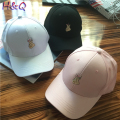 HQ 2017 New Arrival Finger Love Heart Embroidery Couple Baseball Cap Summer Streetwear Women's Fashion Casual Caps Hats XHH04839