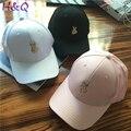 HQ 2017 Nova Chegada Dedo Amor Coração Bordado Boné de Beisebol Casal Verão Streetwear Moda Casual Caps Chapéus das Mulheres XHH04839