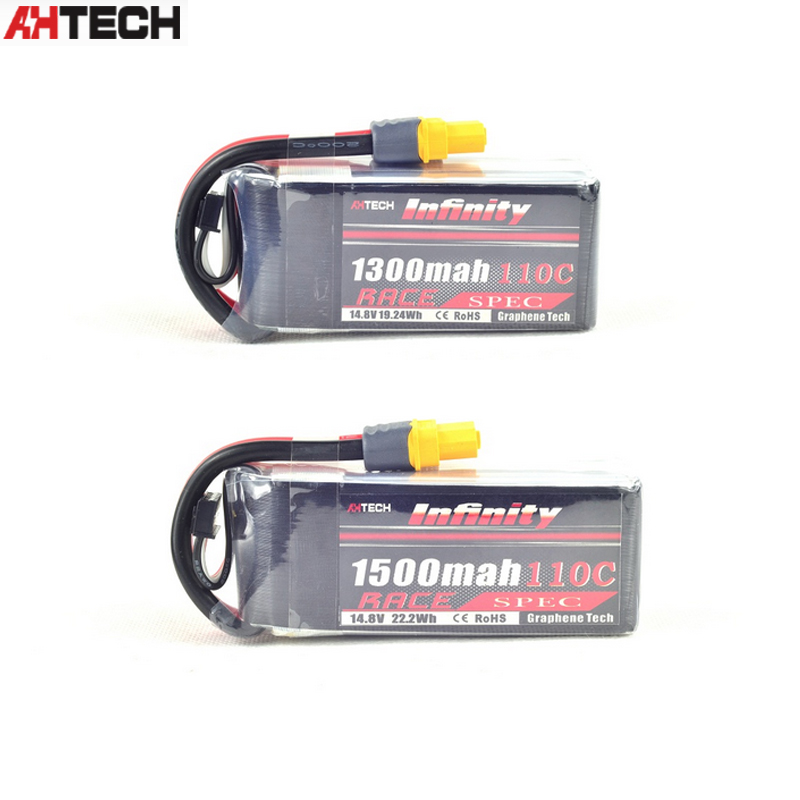 все цены на Infinity 14.8V 1300mah / 1500mah 110C 4S1P Race Spec Lipo Battery for RC FPV Racing Drone Quadcopter Helicopter