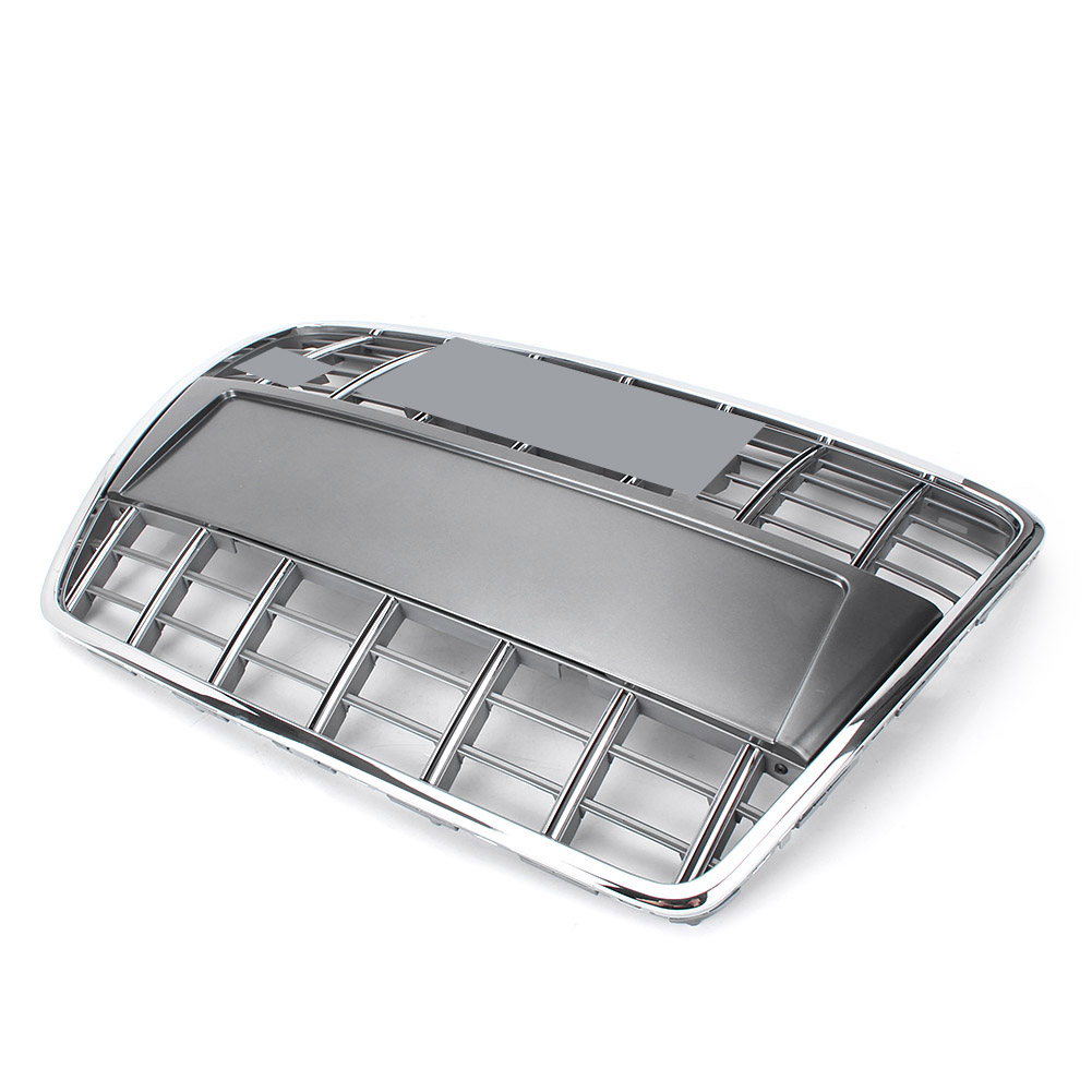 For Audi A6 Quattro C6 S6 Front Upper Grill Mesh Grille Hood Bumper 2005-2011 Auto Car Spare Parts Accessories radiator cooling fan relay control module for audi a6 c6 s6 4f0959501g 4f0959501c