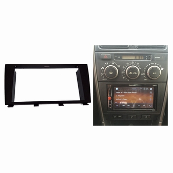 Double Din Car Radio Fascia for 1995-2006 Lexus IS200 IS300 Toyota Altezza 173X98mm Auto Stereo Plate Frame In-Dash Mount kit