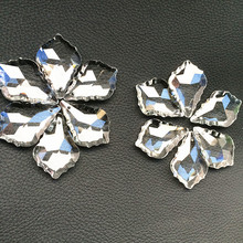 Pendants Curtain-Accessories Lighting-Part Chandelier Crystal for 10pcs Top-Quality 38--22mm