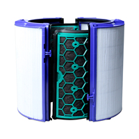 For Dyson HP04/TP04/DP04 Sealed Two Stage Air Purifier Filters Hepa filter+Carbon filter