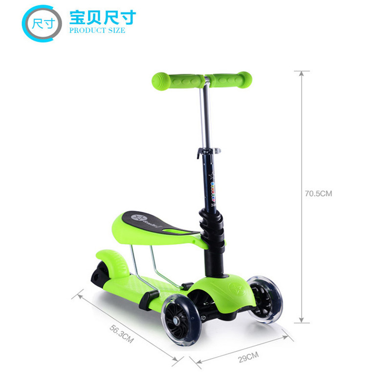 Aliexpress.com : Buy 3 in 1 child scooter toy tricycle scooter ...