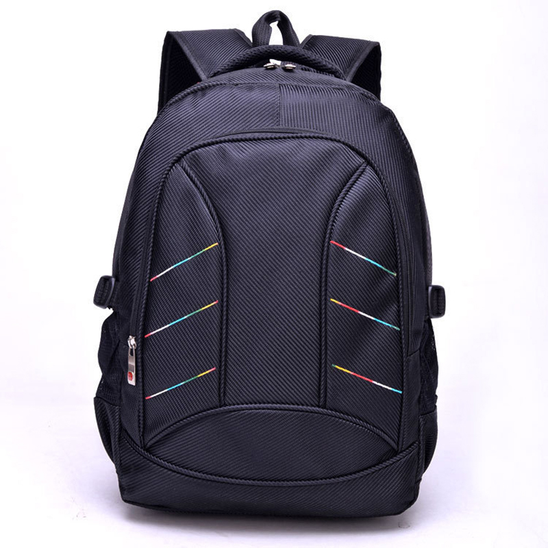 Nylon Black Backpack Waterproof Men's Back Pack 15.6 Inch Laptop Mochila High Quality Designer Backpacks Male Escolar-50 sinpaid 3 size backpack waterproof men s back pack 15 6 inch laptop mochila high quality designer backpacks male escolar ff