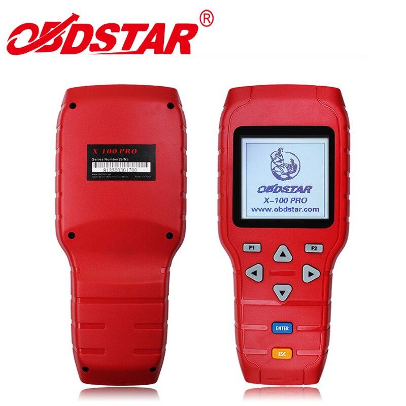 Горячая Распродажа Auto Key Программист obdstar X100 Pro C + D + E Пробег коррекции инструмента одометра регулировка с помощью obd с EEPROM Immo адаптер