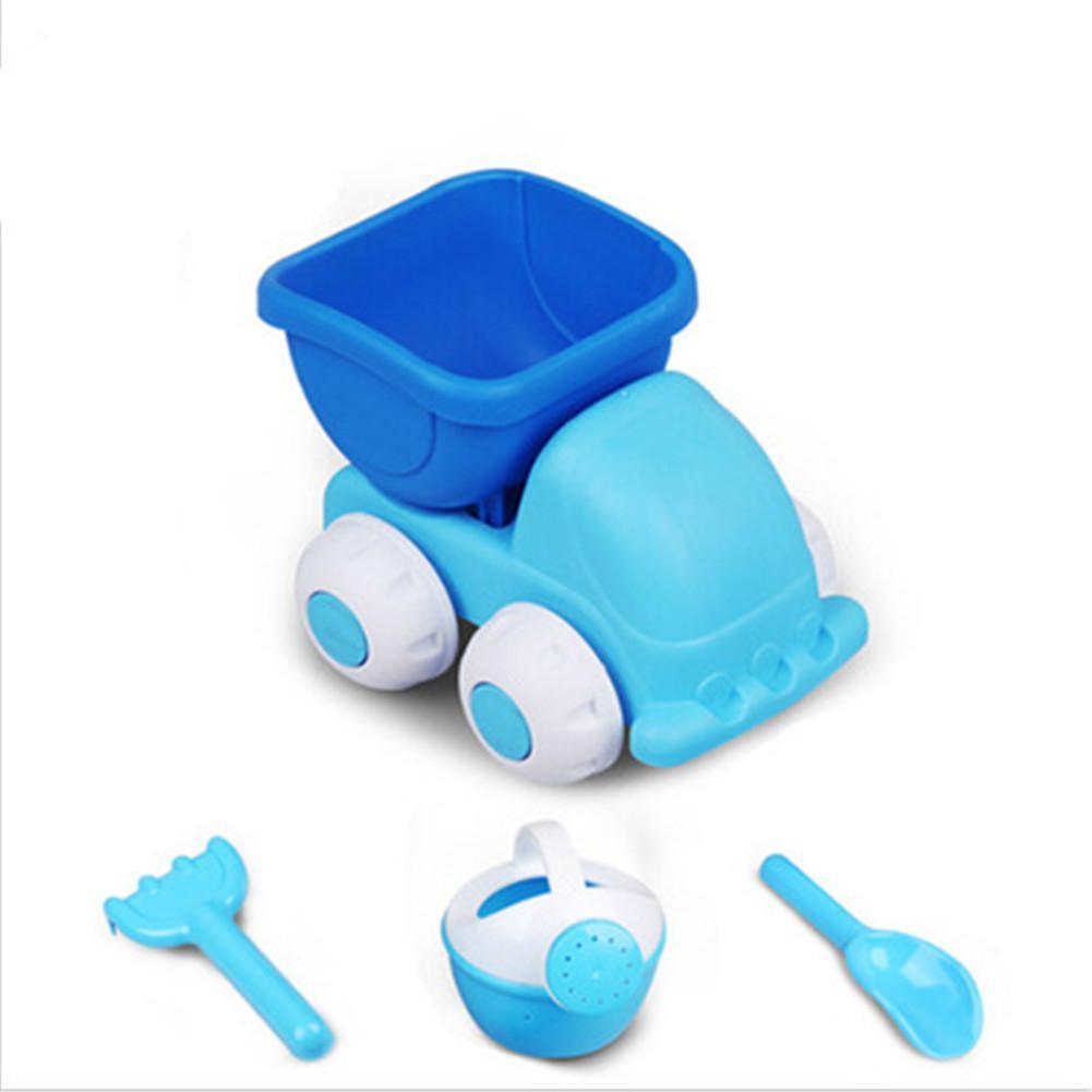 Kids Simulate Car Shovel Kettle Rake Toys Set For Outdoor Beach Sand Playing