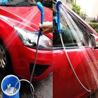 12V Car Washer portable Camping Shower set USB car shower DC 12V pump pressure shower Outdoor Travel Caravan Van water bucket