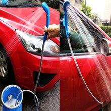 Переносной походный Душ Набор USB автомобильный душ DC 12 В насос давление душ лагерь путешествия открытый Душ ducha Кемпинг Pet автомойщик