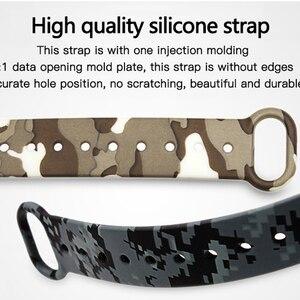 Image 3 - Hotsale mi2 bilek kayışı için akıllı aksesuarlar xiaomi mi2 Mi Band 2 kayış silikon bilezik için yedek xiaomi mi2 bant