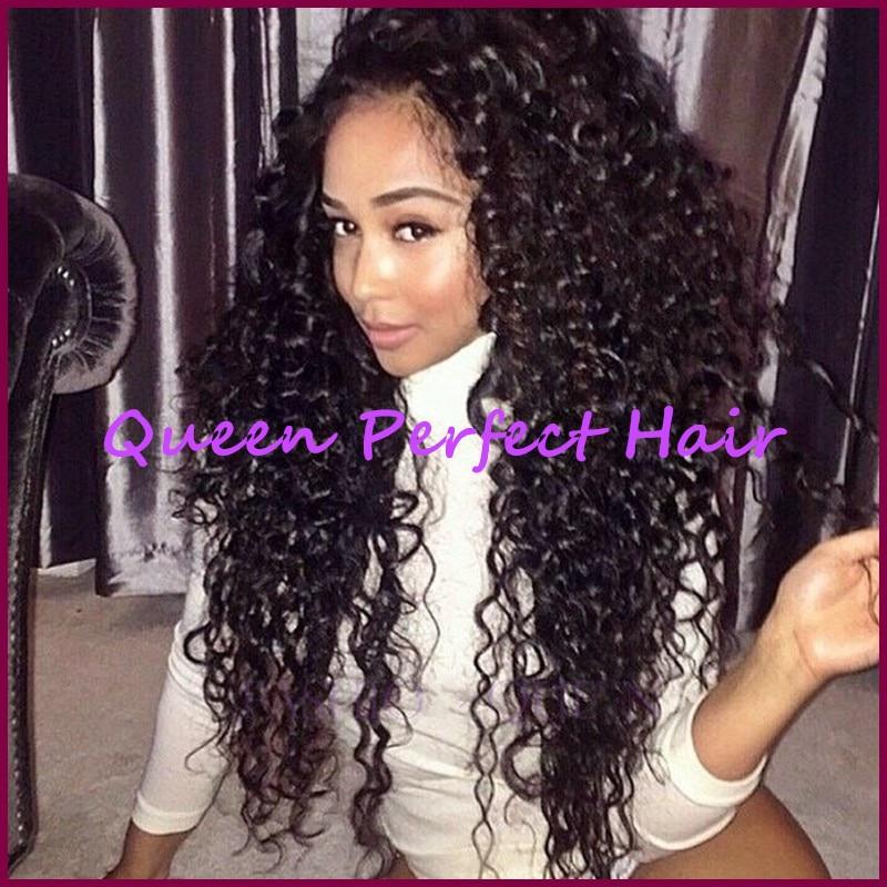 long curly wigs black women