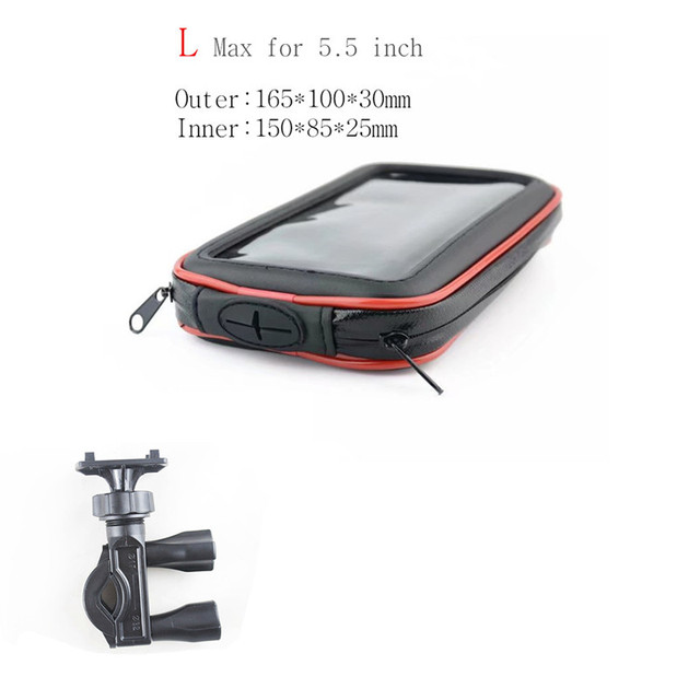 TOTTIDAY Motorcycle Phone Holder Support Mobile Moto Bicycle Stand For Iphone/huawei/Mi Smart Phones Bike Bag Stand GPS