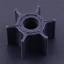 1Pc Black Outboard Boat Motor Water Pump Impeller Fit for Yamaha 9.9HP 15HP 682-44352-01 b351 21 impeller fit lp200 wp200 50hz