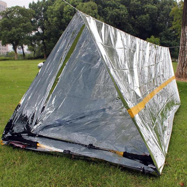 RUNACC Outdoor Survival Emergency Shelter Hiking Camping tent outdoor Emergency Tent for Cold Temperature Environments