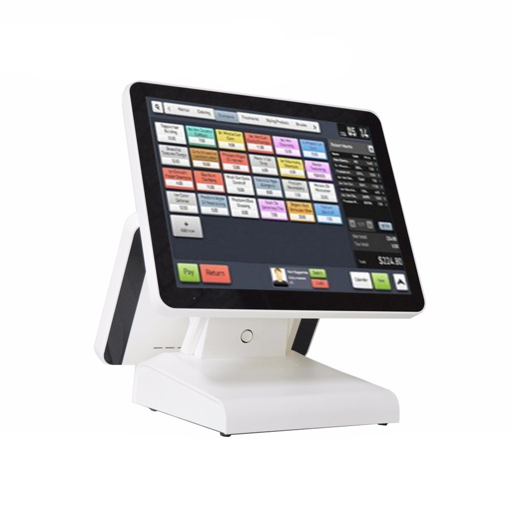 1619D Compos 15 Inch Touch Screen Display Cash Register Can Be Customized Built In Speaker