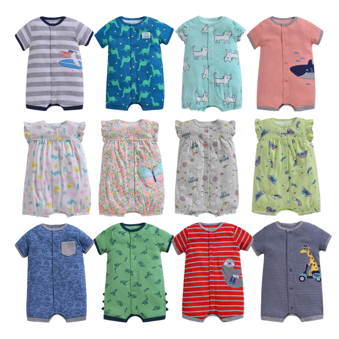 Cute Newborn Toddler Baby Boy//Girls Sleeve Romper Jumpsuit Summer Clothes Outfit