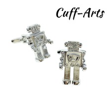 Cufflinks for Men Retro Robot Mens Cuff Jewelery Gifts Vintage by Cuffarts C10307