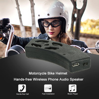 Bicycle Motorcycle Bluetooth Speaker Helmet Audio Stereo Headset Speaker Handsfree Call Voice Navigation for iPhone for Android