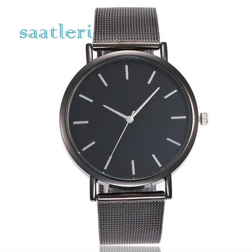 Best Sale 2018 Fashion high quality rosefield watch  Casual Quartz Stainless Steel Band Marble Strap Watch Analog Wrist Watch