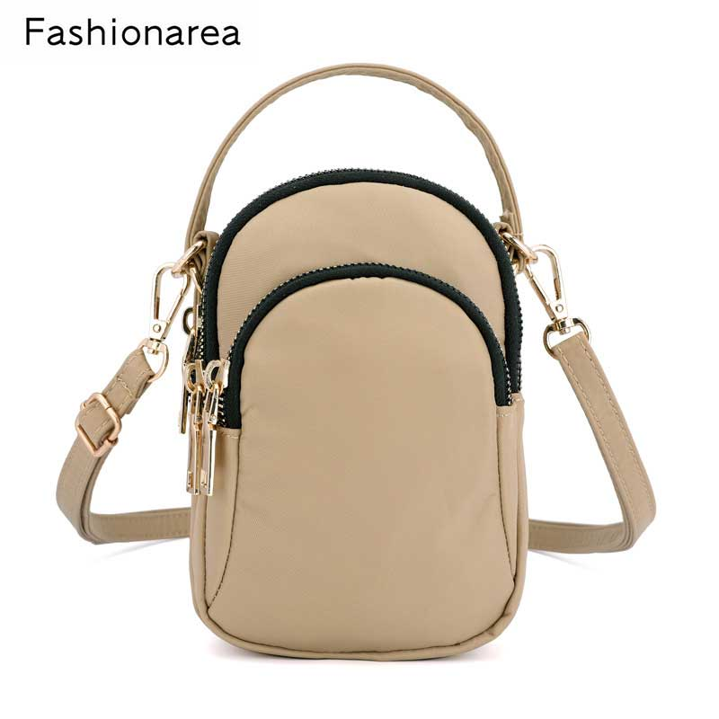 Famous Brand Spring Women Small Bag Nylon Waterproof Handbag Fashion Ladies Messenger Bags Mini Shoulder Crossbody Bag Bolsa