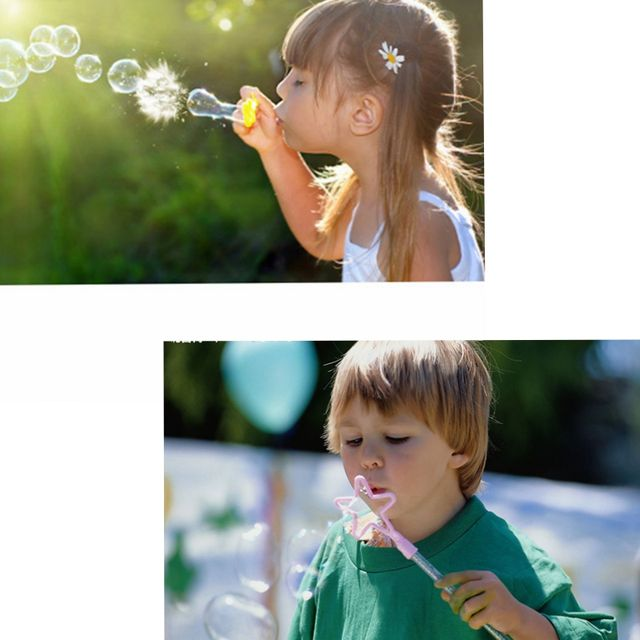 Blowing Bubble Soap Tools for Kids Children Day Gifts