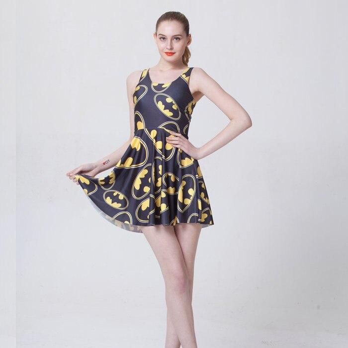 ᗑ】Moda 1046 mujeres sexy niña verano Comics Batman logo 3D imprime ...
