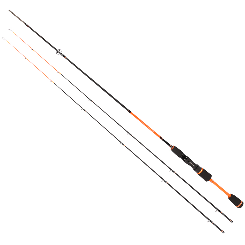 Tsurinoya 2 tips Spinning Fishing Rod Carp Carbon Rod 1.8M UL/L Power Pike Fishing Joy Together Soft Lure Bait Rod Free shipping fishing joy every day 480g