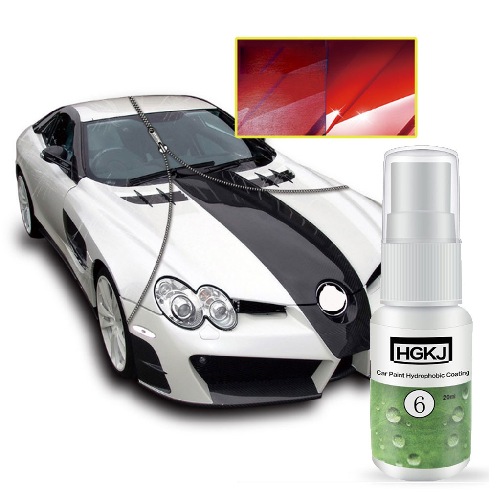 Car Polish Paint Protecter Waterproof Rainproof Nano Hydrophobic Coating Auto Polishing  ...