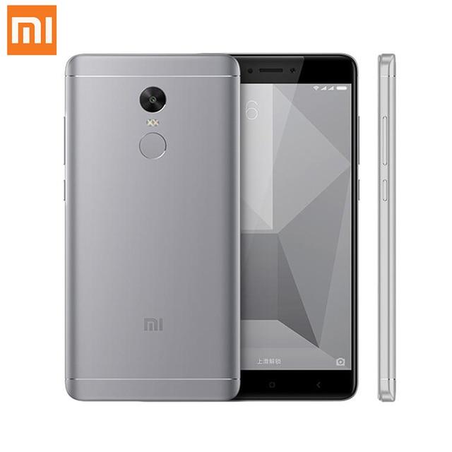 Оригинал xiaomi redmi note 4x3 ГБ 32 ГБ мобильного телефона 1080 P Snapdragon 625 Octa Core 13.0MP Камера Металлический Корпус Глобальной ROM ОТА