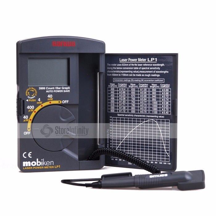 Digital SANWA LP1 Optical Laser Power Meter 40mW 400~1100nm range optical sensor Original Japan