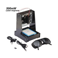 NEJE Black 500mW USB DIY Laser Printer Engraver Laser Engraving Cutting Machine