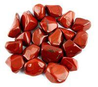 1/2lb массового сыпались красная яшма камни-большой 1