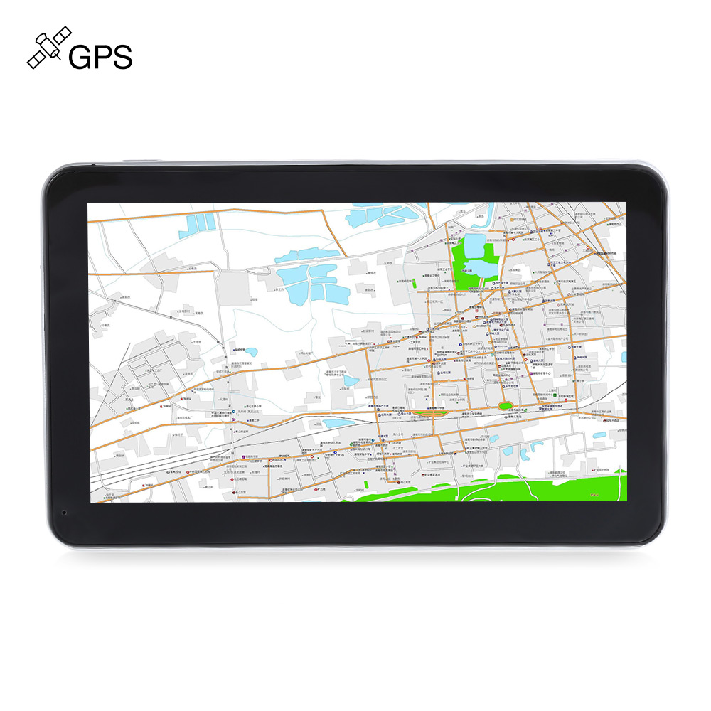 704 7 inch Win CE 6.0 / Touch ScreenTruck Car GPS Navigation Navigator 800 x 480 Multi-media Player with Free Maps junsun d100 car gps navigator with free maps