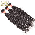 Brazilian Virgin Hair Natural Wave, Wet And Wavy Brazilian Hair Weave Bundles Brazilian Curly Virgin Hair Human Hair Extensions