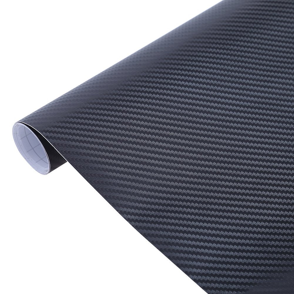 200cm x 50cm 3D Carbon Fiber Vinyl Wrap Film Motorcycle Car Vehicle Sticker Automobiles Car Styling Decals