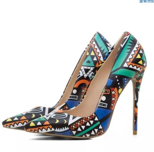 Vinapobo Leather Woman Thin High Heels Colorful Black Green Stiletto Office Dress Wedding Shoes Lady Pumps Sexy Zapatos Mujer