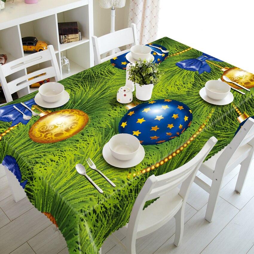 Blauw Golden Candy Box Op Groen Gazon 3d Tafelkleed Stereo Tafelkleed Tapestry Redelijke Prijs