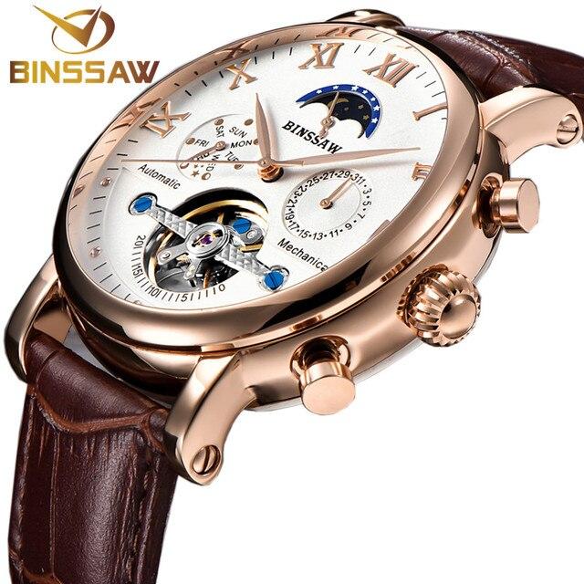 56056735aa04 Reloj Tourbillon mecánico automático para hombre