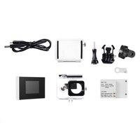 1.5 TFT LCD BacPac External Monitor Display Viewer Non touch Screen + Battery + Waterproof Housing Case For Xiaomi Yi Camera