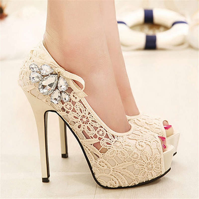 BICOLOR Women High Heels Sandals Thick Platform Shoes Woman Luxury summer party wedding shoes super Sandal