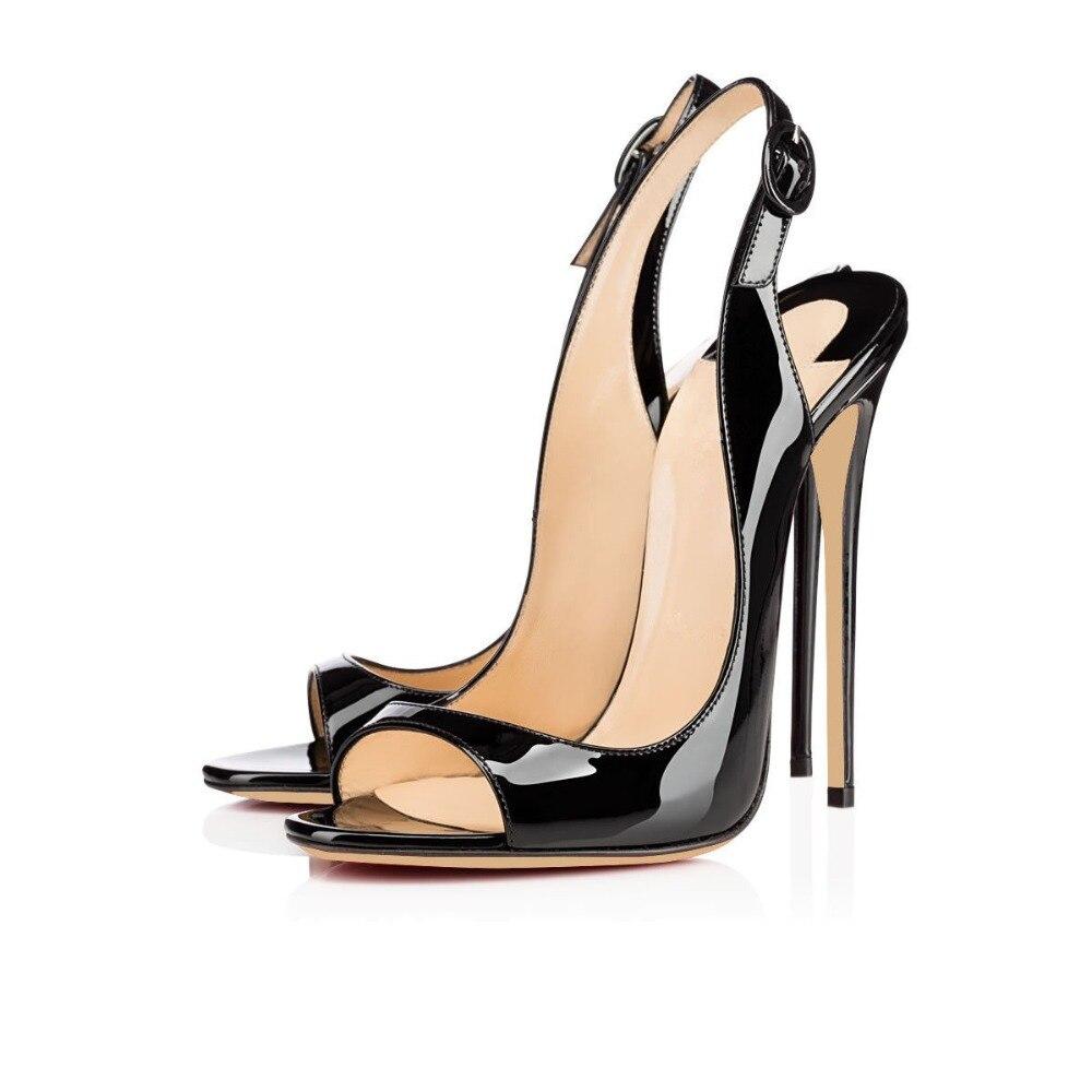 ФОТО ZK summer women's new fashion sexy high heels 12cm sandals EU size 34---45