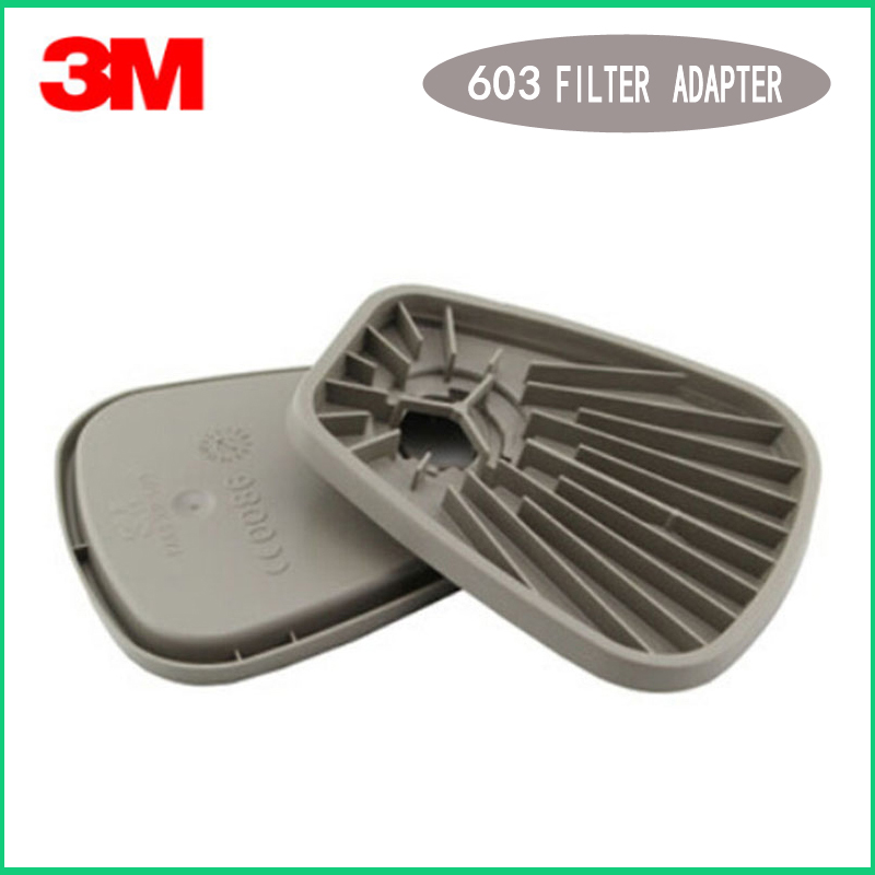 3M 603 Filter Adapter 5N11 Filter Cotton Holder with 6200/7502/6800 Series Face gas Mask used for dust mask3M 603 Filter Adapter 5N11 Filter Cotton Holder with 6200/7502/6800 Series Face gas Mask used for dust mask