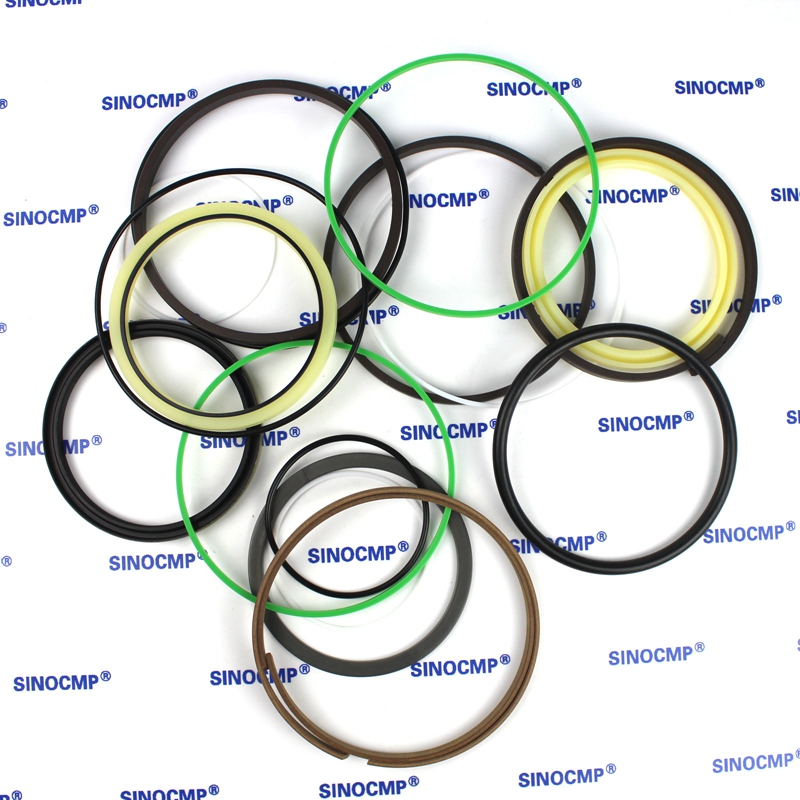 For Komatsu PC200-6 Arm Cylinder Repair Seal Kit 707-99-57200 Excavator Gasket, 3 months warranty high quality excavator seal kit for komatsu pc60 7 arm cylinder repair seal kit 707 99 38230