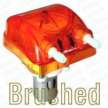 1000 мл/мин., 12в Перистальтический Насос с Прозрачной Orange Сменные Перистальтический Напор Насоса и утвержденными FDA PharMed BPT Трубки