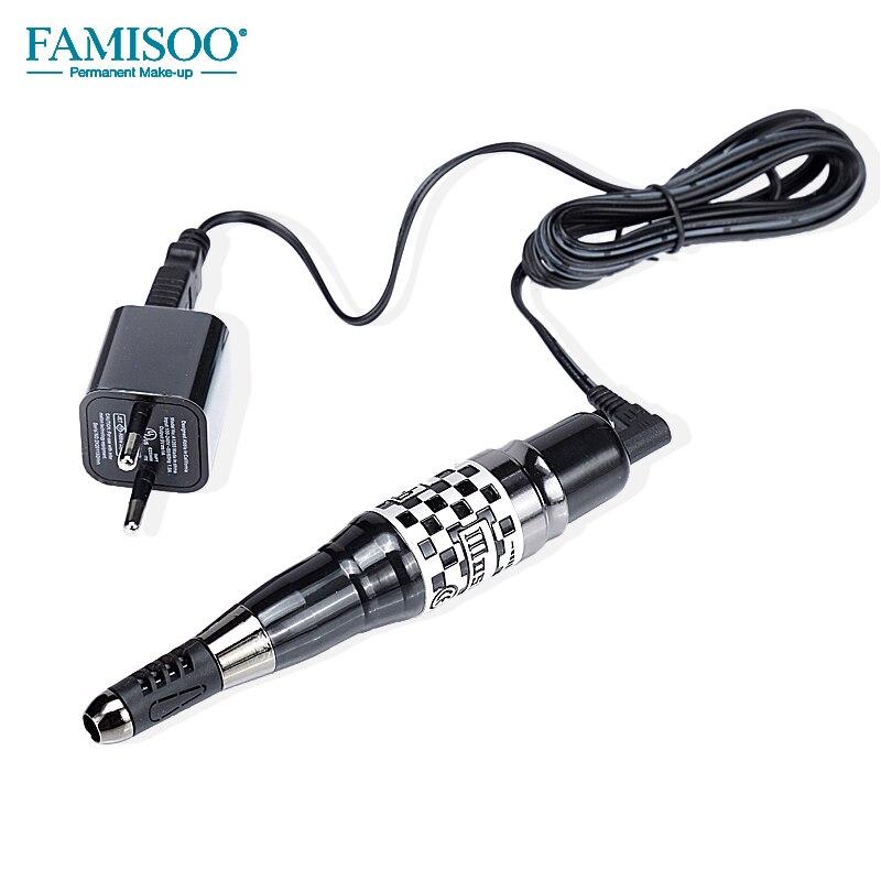 Mosaic Semi Permanent Tattoo Machine With Power Supply Needle For Eyebrow Lip Munsu tattoo gun High Quality