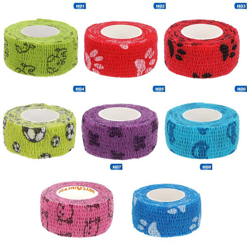 1 Pc Tape Waterproof Self Adhesive Elastic Bandage Muscle Tape Finger Joints Wrap Therapy Bandage Care
