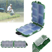 High quality 10 Grid Fishing Lure Bait Tackle Waterproof Storage Box Case durable fishing practical tool 20(China)