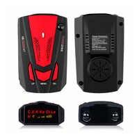 Détecteurs de signaux Radar de voiture dispositif d'alerte rapide anglais/russe Auto 360 degrés véhicule V7 vitesse alerte vocale alarme d'avertissement