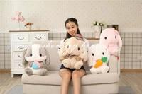Kawaii Kids Plush Toys Japanese Anime Cartoon Character Amuse Doll Cute Adorable Bunny Soft Christmas Birthday